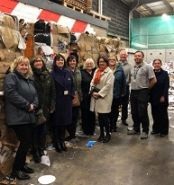 IOMFSA visit waste recycling centre